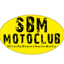 STRADE BIANCHE IN MOTO CLUB LOGO